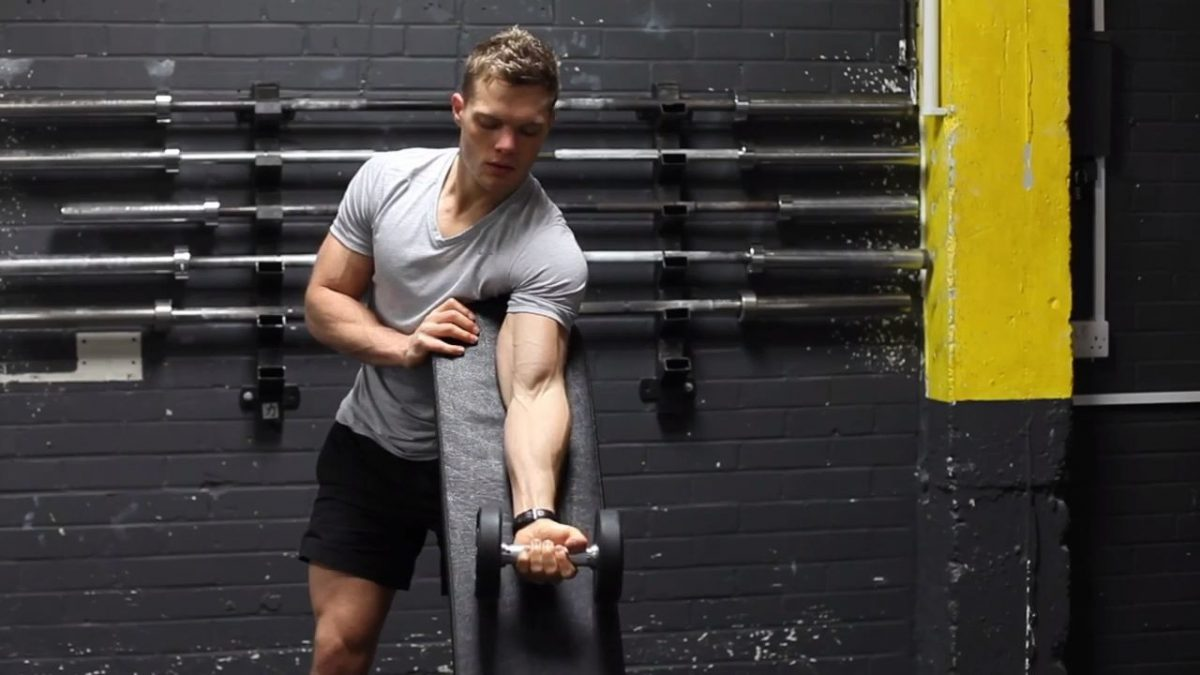 Dumbbell Concentration Curls
