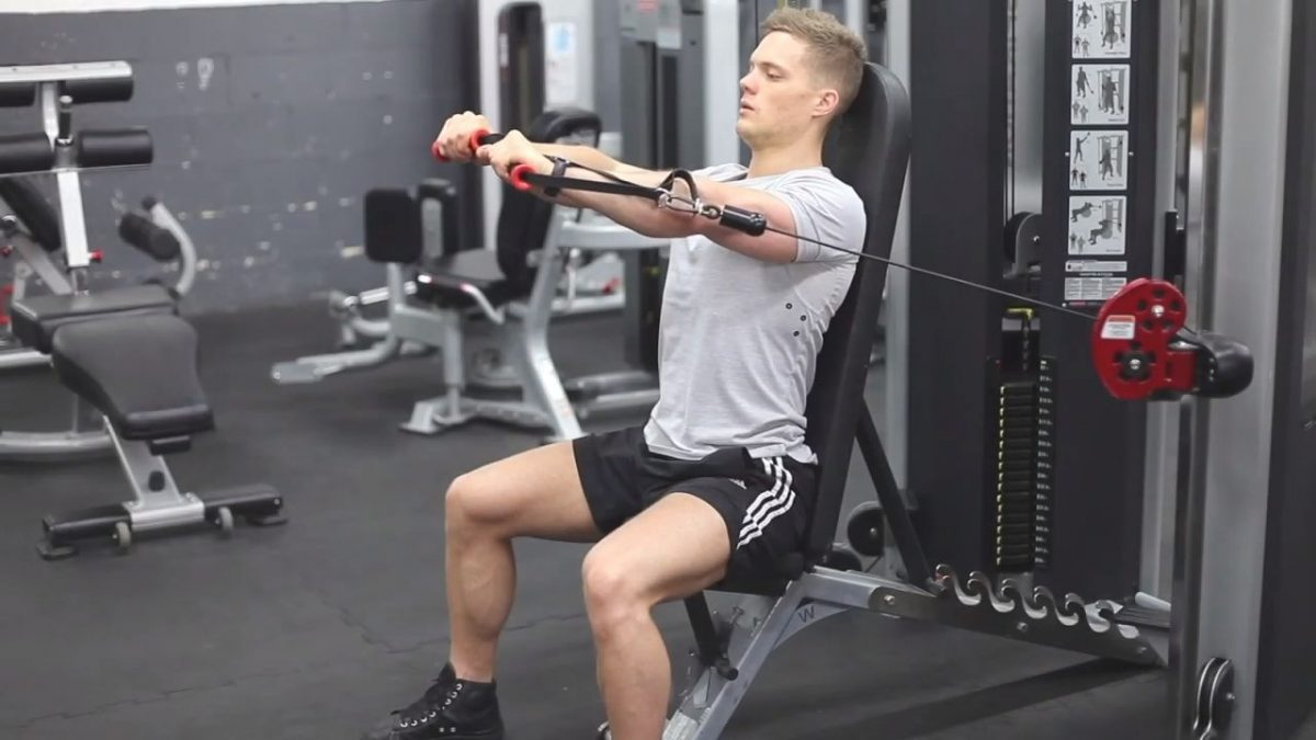 Seated Cable Chest Press