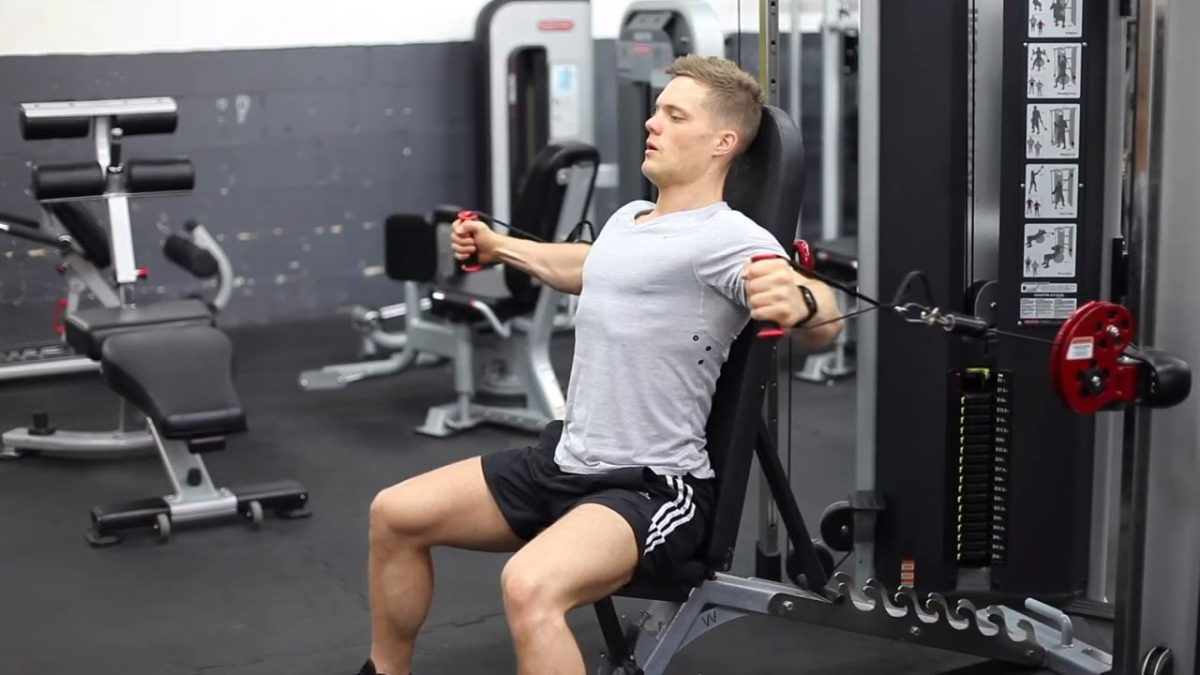 Seated Cable Flyes