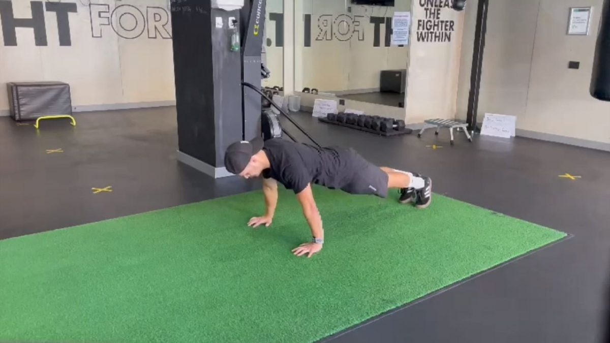 Push Up Into Hyperextension
