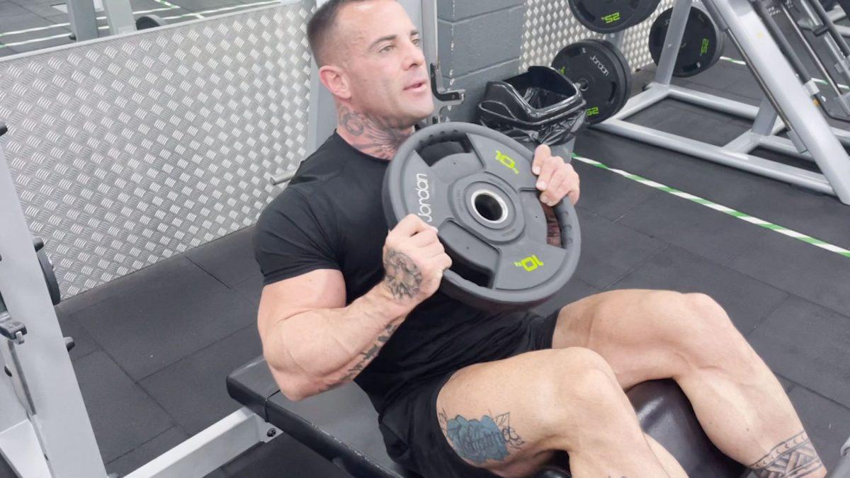 Decline Weighted Sit Ups