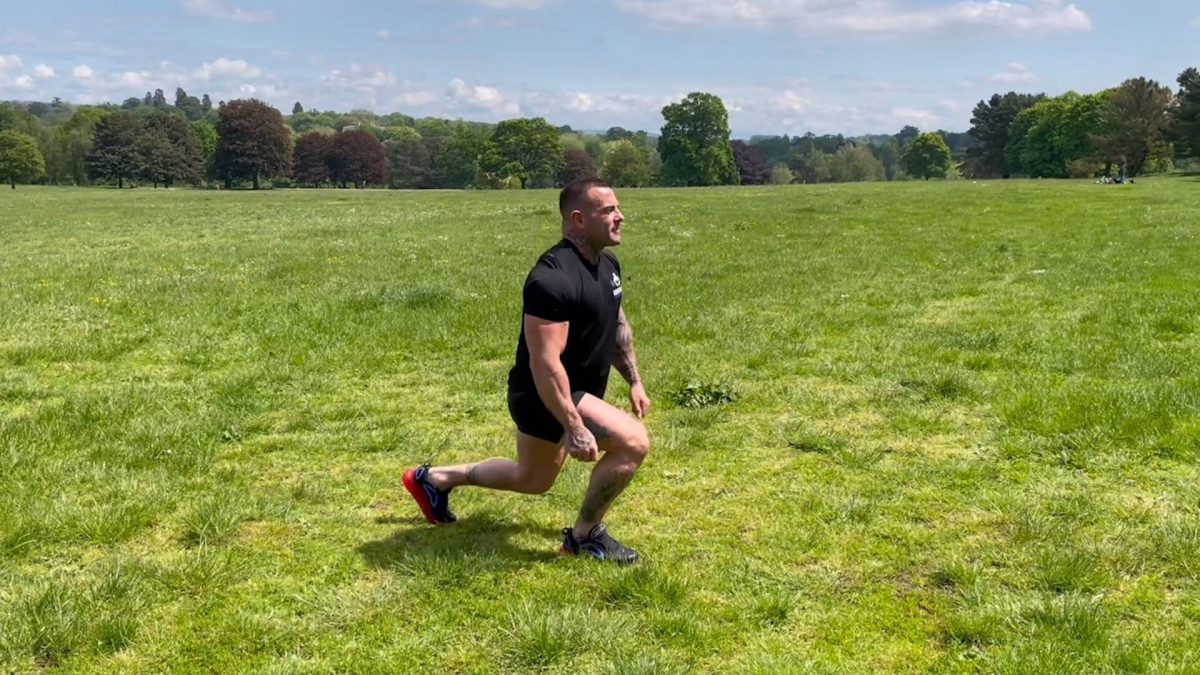 Jump Lunges – Outdoors