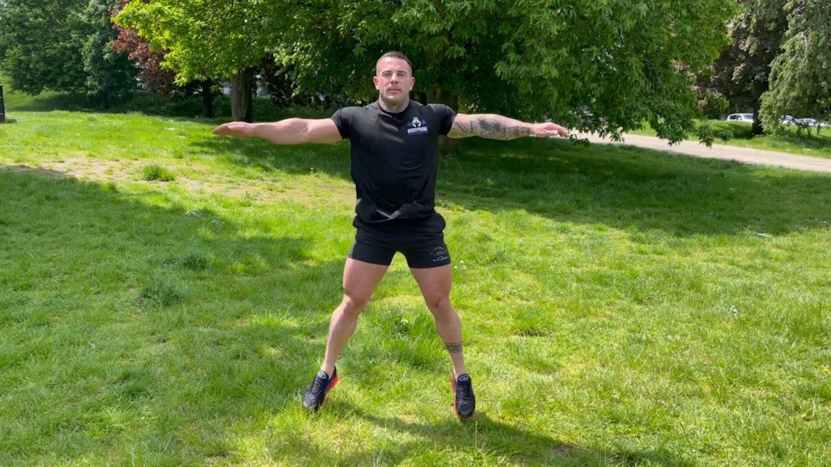 Jumping Jacks – Outdoors