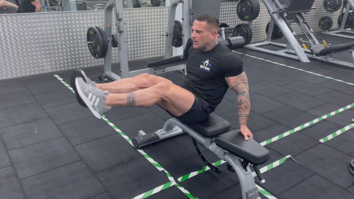 Leg Raises On A Bench